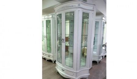 ПАЛЕРМО-витрина-26-белый-серебро-1-16