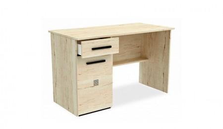 Мале-стол-письменный-дуб-галифакс-белый