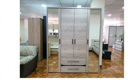 СГ-Мале-шкаф-4D-Дуб-галифакс-белый