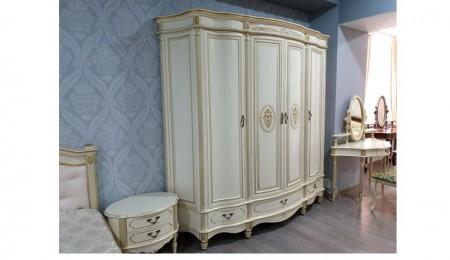 Шкаф 4-х секционный Палермо 63 шампань